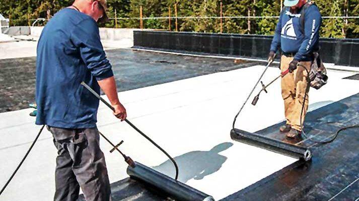 Какви материали се използват за хидроизолация на покрив